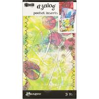Dylusions - Dyalog Printed Pocket Inserts, 3kpl