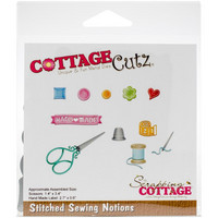 Cottage Cutz - Stitched Sewing Notions, Stanssisetti