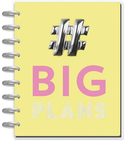 MAMBI - Happy Planner CLASSIC 2018 -2019, Big Plans