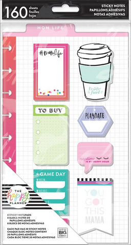 Mambi - Happy Planner Sticky Notes, Mom Life