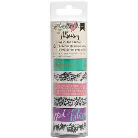 American Crafts - Bible Journaling Washi Tape, Hallelujah, Teippisetti