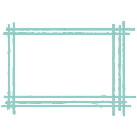 Kaisercraft - Sketched Rectangle Frame, Stanssisetti