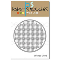 Paper Smooches - Stitched Circle, Stanssi