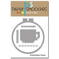 Paper Smooches - Embroidery Hoop, Stanssi