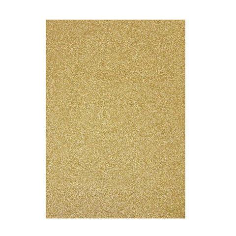 Tonic - Glitterkartonki, Gold Dust, A4, 5 arkkia