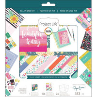 Project Life - All-In-One Album Kit, Paige Evans Oh My Heart, 183 osaa