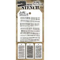 Tim Holtz - Mini Layered Stencil, Set #34