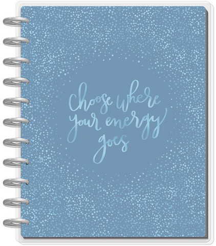 MAMBI - BIG Happy Planner 18-Month Dated Planner, Self Care (hieman jälkiä kannessa)