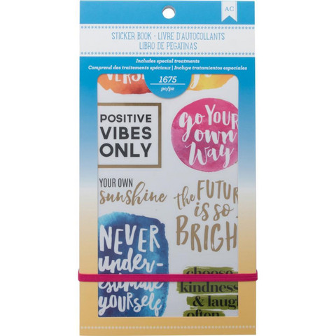 American Crafts - Planner Stickers, Inspirational Life, Tarrasetti