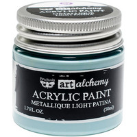 Prima Marketing - Finnabair Art Alchemy Acrylic, Metallique Light Patina
