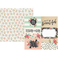 Simple Stories - Bloom Double-Sided Cardstock 12