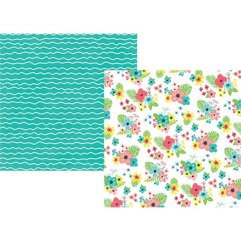 Simple Stories - Hello Summer Double-Sided Cardstock 12