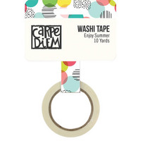 Simple Stories - Carpe Diem Hello Summer Washi, Enjoy Summer