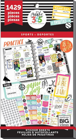 MAMBI - Happy Planner, Sports, Tarrasetti, 30arkkia