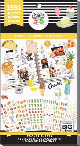 MAMBI - Happy Planner, Food, Tarrasetti, 30arkkia