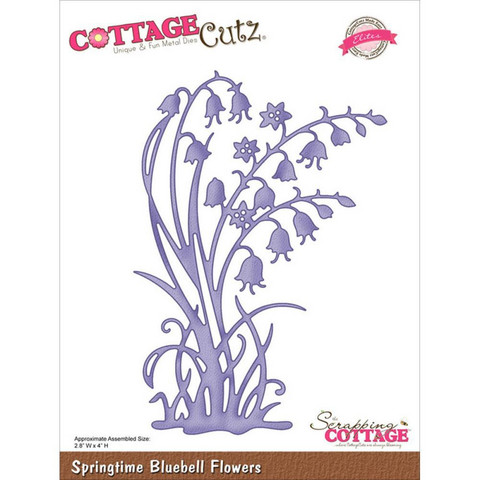 Cottage Cutz - Springtime Bluebell Flowers, Stanssi