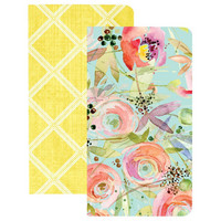 Color Crush - The Good Life Traveler's Notebooks, Trellis & Flowers, 2 kpl