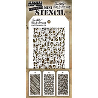 Tim Holtz - Mini Layered Stencil, Set #35