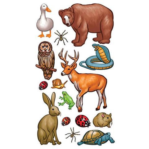 Tarra-arkki, Forest Animals