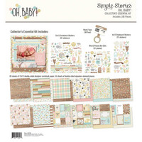 Simple Stories - Simple Stories Collector's Essential Kit, Oh Baby!, 12