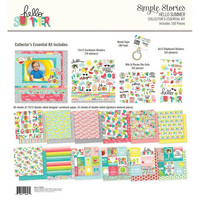Simple Stories - Simple Stories Collector's Essential Kit, Hello Summer, 12