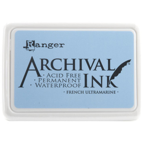 Ranger - Archival Ink leimamustetyyny, French Ultramarine