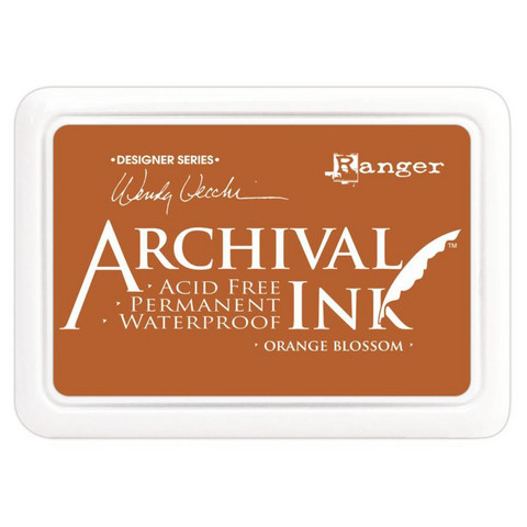 Ranger - Archival Ink leimamustetyyny, Orange Blossom
