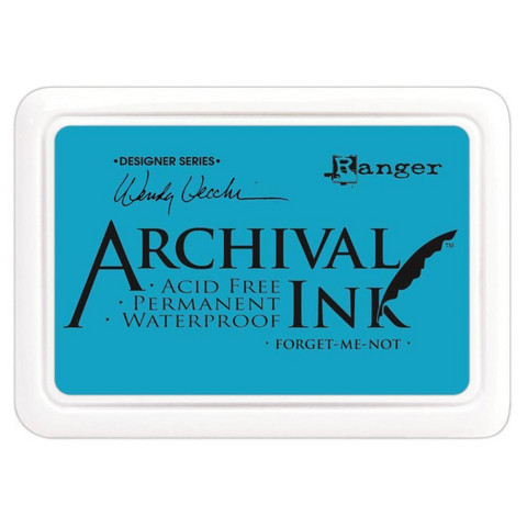Ranger - Archival Ink leimamustetyyny, Forget Me Not