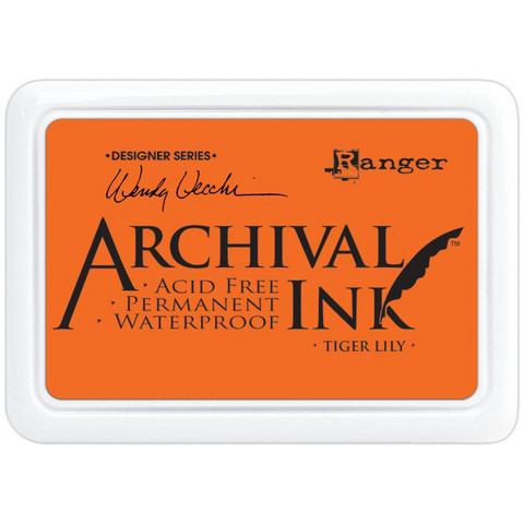 Ranger - Archival Ink leimamustetyyny, Tiger Lily