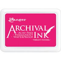 Ranger - Archival Ink leimamustetyyny, Vibrant Fuchsia