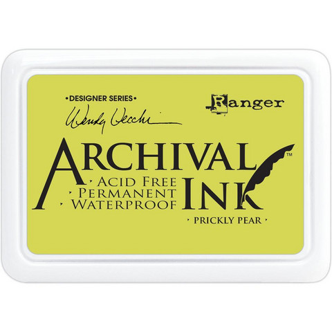 Ranger - Archival Ink leimamustetyyny, Prickly Pear