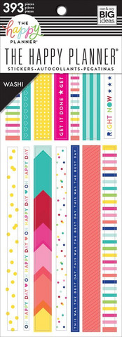 MAMBI - Happy Planner, Brights Washi Book, Tarrasetti, 20arkkia