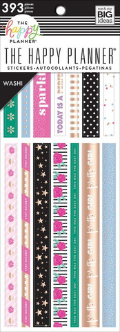MAMBI - Happy Planner, Girly Washi Book, Tarrasetti, 20arkkia