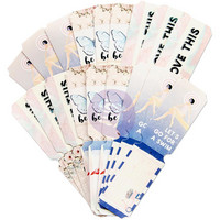 Prima Marketing - Santorini Die-Cut Paper Tickets, 36 osaa