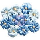 Prima Marketing -  Santorini Pearlescent Paper Flowers, Athinios