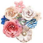 Prima Marketing -  Santorini Mulberry Paper Flowers, Fira