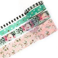 Prima Marketing - Havana Decorative tape, 4 rullaa