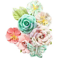 Prima Marketing -  Havana Mulberry Paper Flowers, Perla