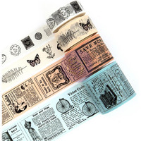 Prima Marketing - Traveler's Journal Vintage Decorative tape, Vintage, 4 rullaa