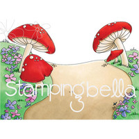 Stamping Bella - Gnome Backdrop, Leima