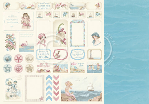 Pion Design - Seaside Stories - Cut outs
