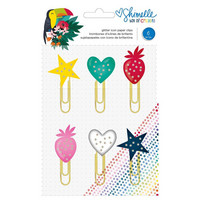 Shimelle - Box Of Crayons Paper Clips, 6kpl