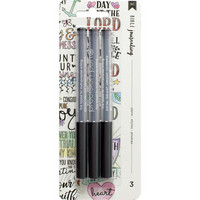 American Crafts - Bible Journaling Precision Pens, 3 kpl