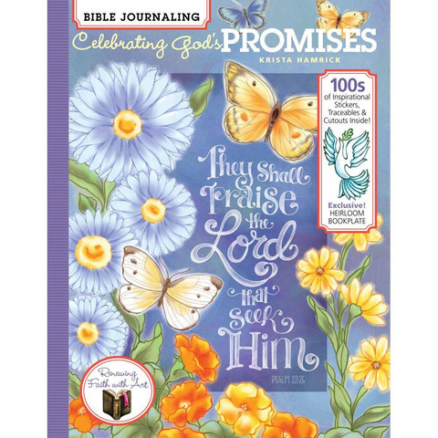 Soho - Bible Journaling-kirja, Celebrating Gods Promises