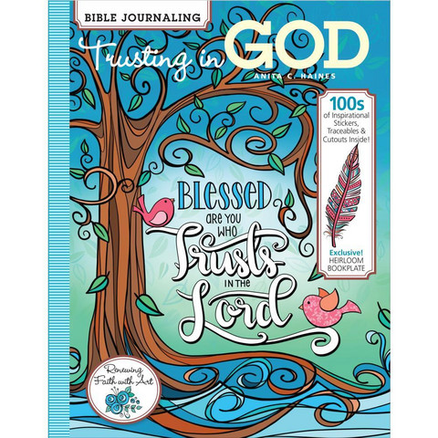 Soho - Bible Journaling-kirja, Trusting In God