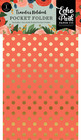 Echo Park - Full Bloom Pocket Folder Insert, Taskuinsertti