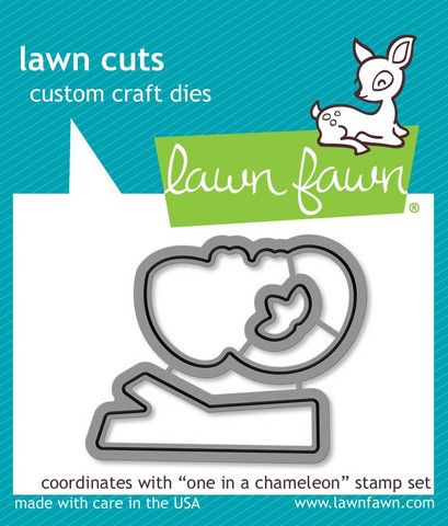 Lawn Fawn - One In A Chameleon, Stanssisetti