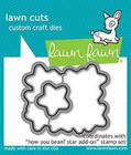 Lawn Fawn - How You Bean? Stars Add-On, Stanssi