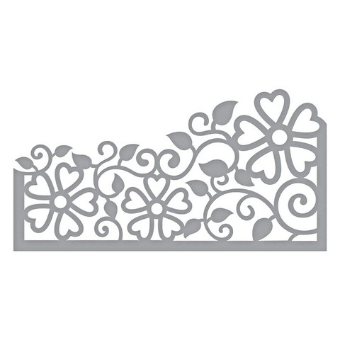 Spellbinders - Stanssi, Side Floral Panel