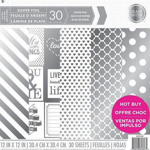 Craft Smith - Silver Foil, 12